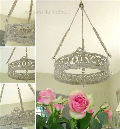 Lustre couronne 4
