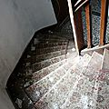 Bretagne, Manoir écossais (escalier)_6427