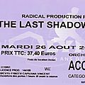The last shadow puppets - mardi 26 août 2008 - olympia (paris)