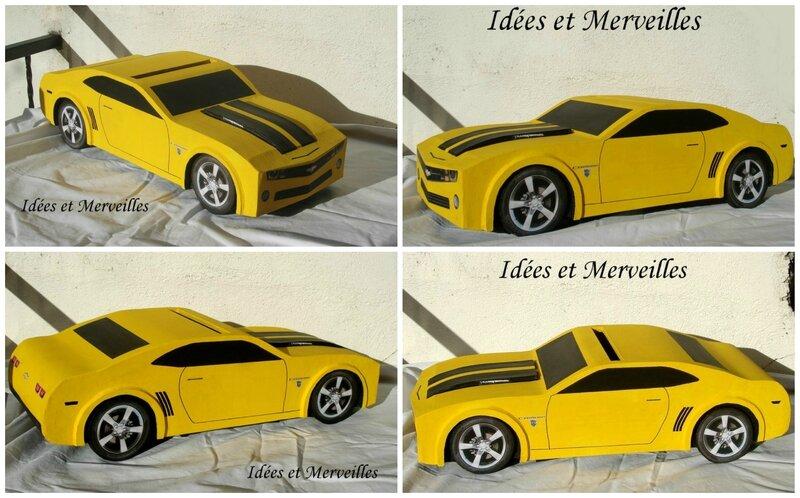 urne camaro transformers - Idees et Merveilles