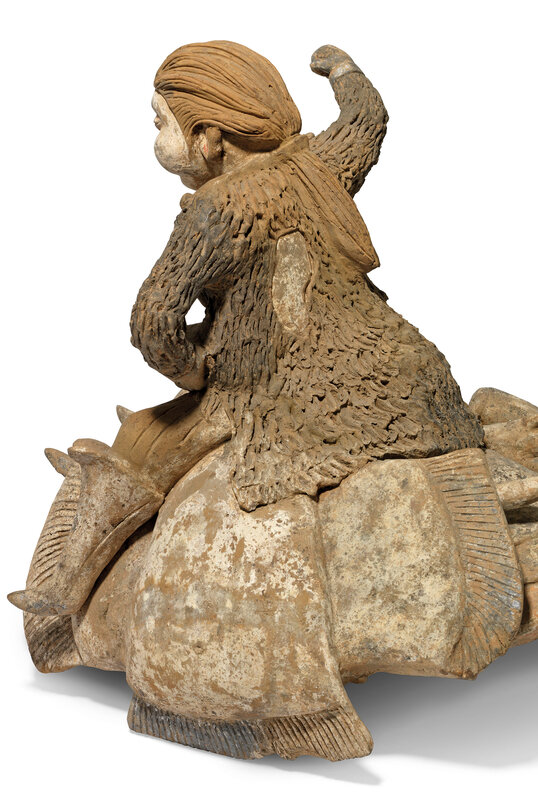 2019_CKS_17114_0004_008(a_massive_painted_pottery_figure_of_a_camel_and_rider_tang_dynasty)