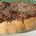 Fougasse aux anchois