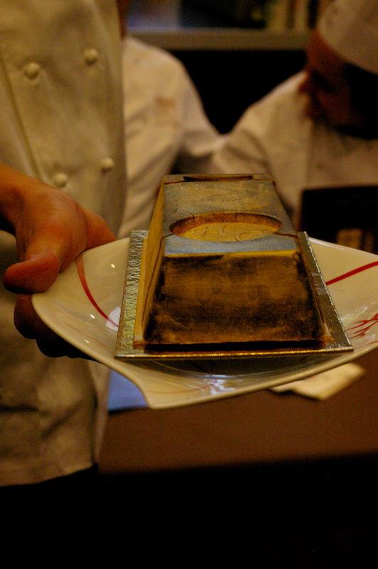 lingot d'or chocolaté