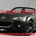 Mazda mx 5, covering auto lyon, covering auto lyon noir mat total covering noir mat, peinture covering noir mat, covering jante