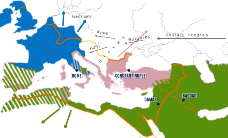 Moyen Âge VIIe siècle