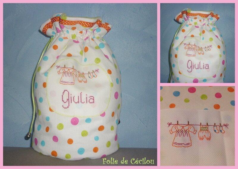 montage pochon Giulia