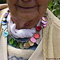 Le collier personnalisé de la grand-mère d'Elodie