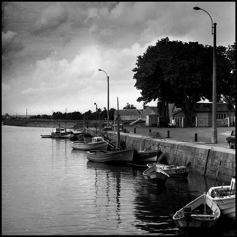 isigny sur mer: le port, 1966