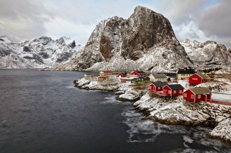 Hamnøy –the Oldest and Most Picturesque Fishing Village in Lofoten, Norway