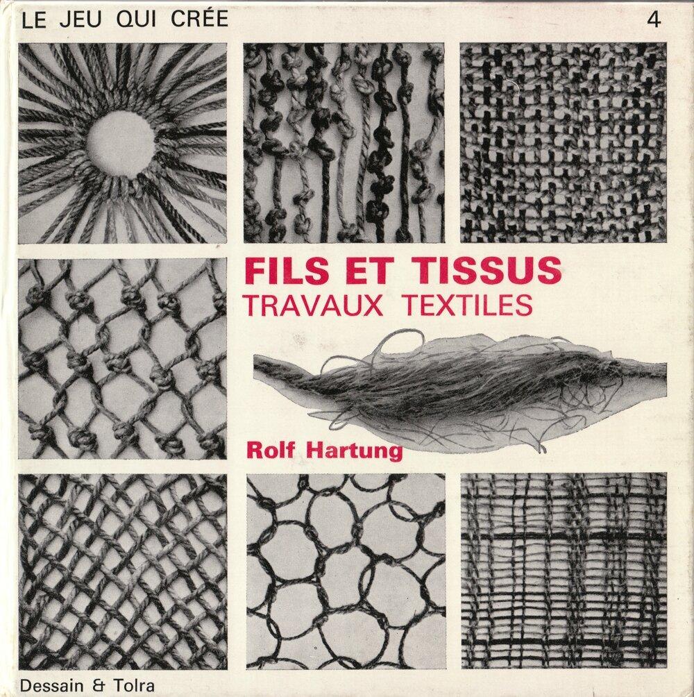 fils et tissus travaux textiles