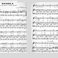 Daniela (partition - sheet music)