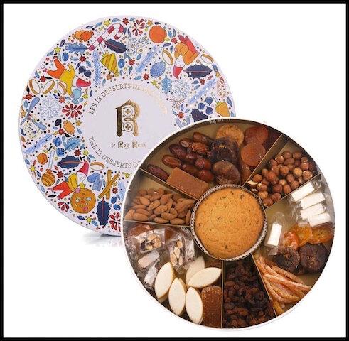 le roy rene les 13 desserts de provence 2