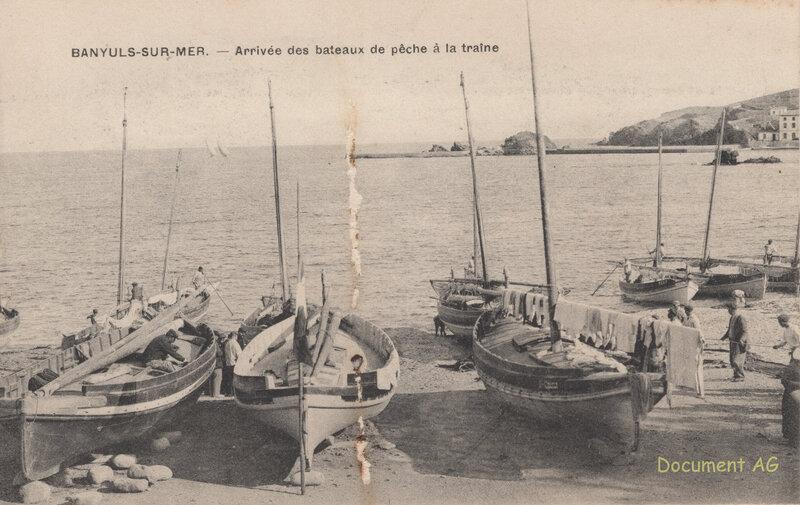 641 Arrivée des bateaux de pêche à la traîne'