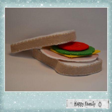sandwich feutrine