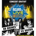 Vv brown et bb brunes en concert gratuit à la victoire le 8 juin à bordeaux