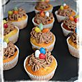 Cupcakes nid de pâques