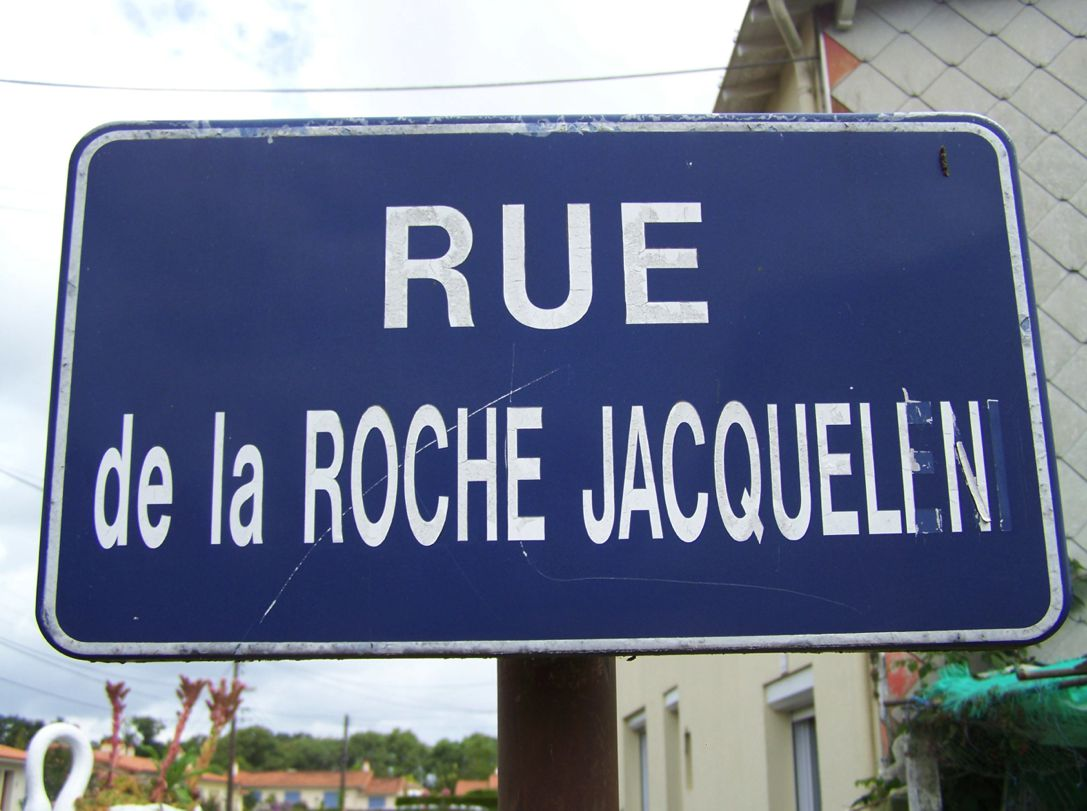 Le Bourg-sous-la-Roche (85), rue La Rochejaquelein