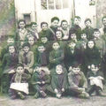 Ecole communale, St-Philippe du Seignal, vers 1960