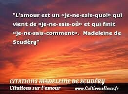 Citation Madeleine de Scudéry