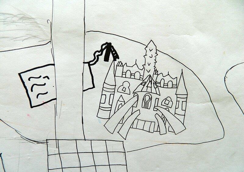 coloriage géant paris, activité enfant,centre de loisirs 2