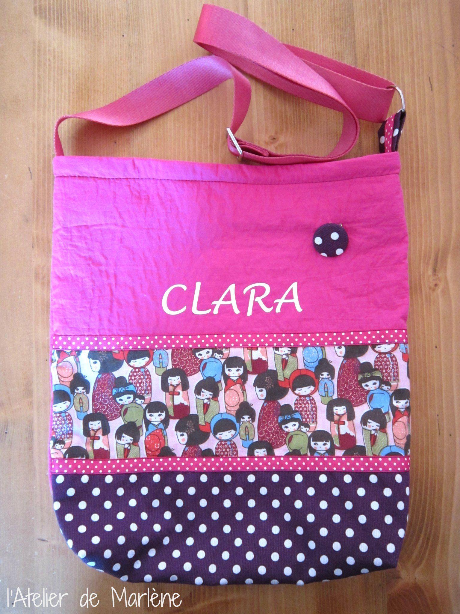 11 - Sac en bandoulière jeune fille CLARA
