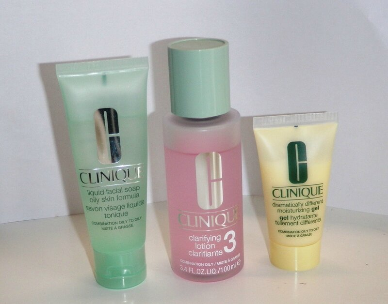 skincare - clinique 3 stapen 1