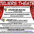 Ateliers theatre 2017-2018