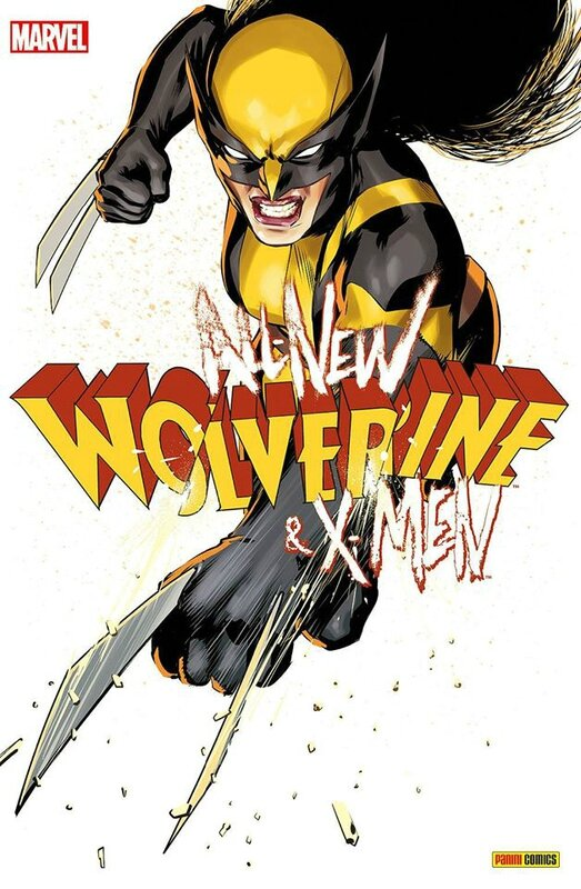 panini all new wolverine & the x-men 06 variant