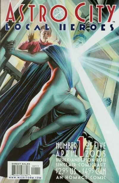 DC Wildstorm Astro City by Kurt Busiek