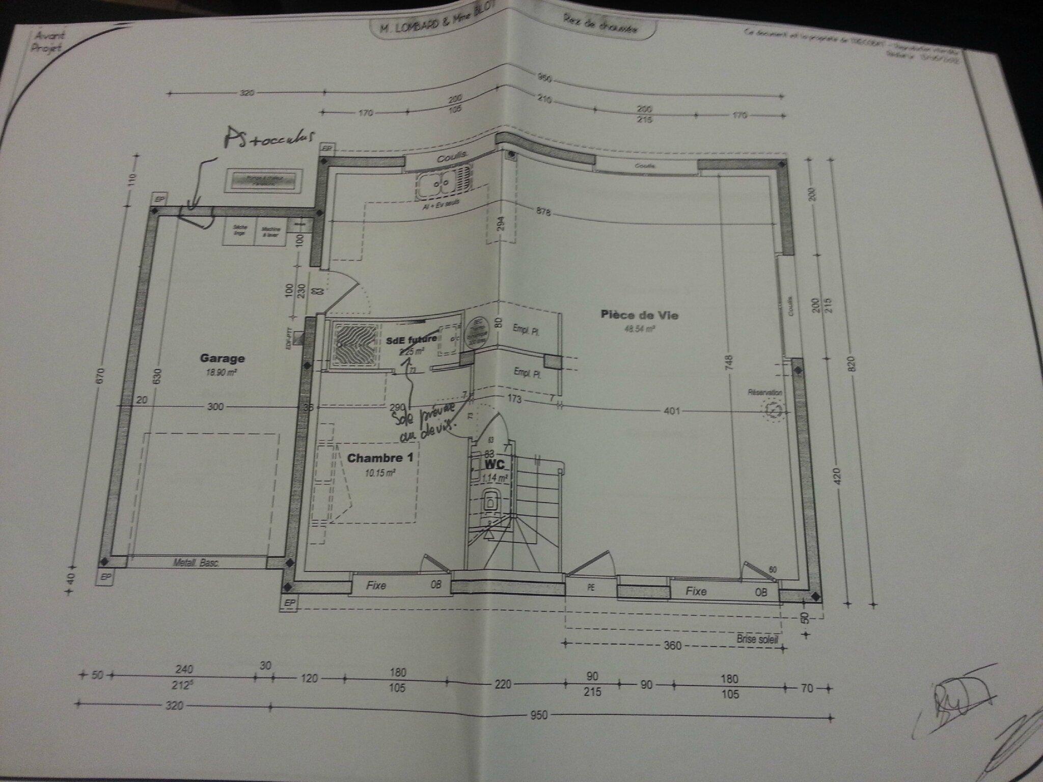 plan maison moderne trecobat ventana blog. Black Bedroom Furniture Sets. Home Design Ideas