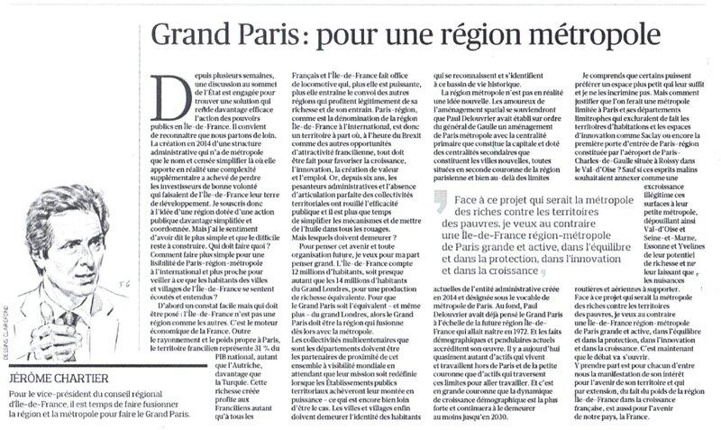 Grand Paris Ile de France