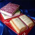 Gâteaux livres et bible