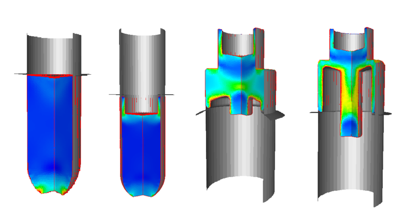 Coldform numerical simulation