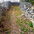 Daglan Chemins pierreux.