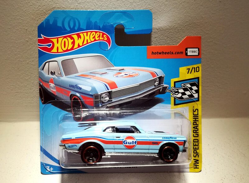 Chevrolet Chevy Nova de 1968 (Hotwheels) (2)
