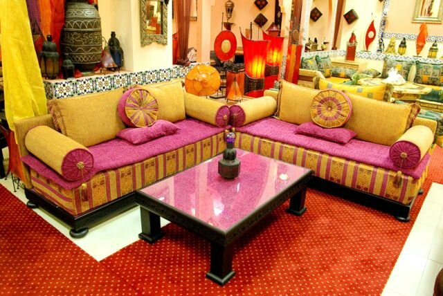 Salon marocain ultra classique - Salon marocain moderne