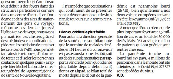 2020 05 10 SO En France baisse spectaculaire des décès dans les Ehpad2