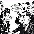 Deux pandas offerts par la chine