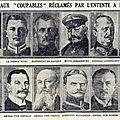 Le cousin - les principaux « coupables » réclamés par l'entente - souscription au monuments aux morts de charmoy.