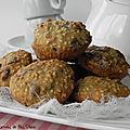 Biscuits ou mini muffins à la banane et au tofu, sans gluten et sans lactose