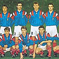 14 novembre 1992 FRANCE-FINLANDE MATCH DE QUALIFICATION POUR LA WORLD CUP 1994