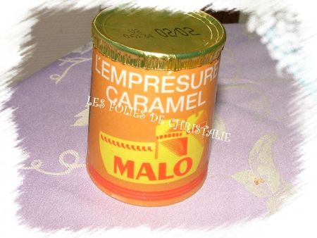 Yaourts MD caramel 1