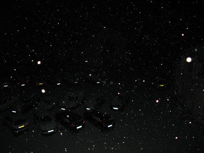 première neige à minuit 04 02 2012