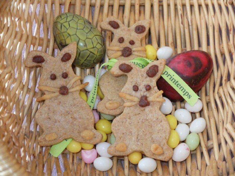 biscuit lapin de paques