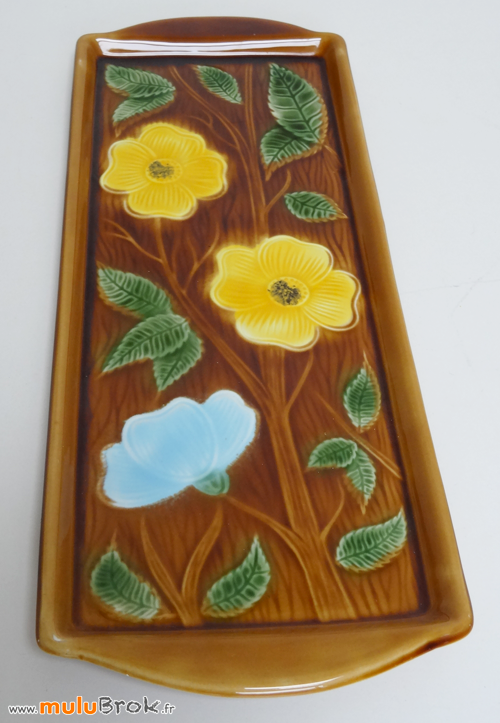SARREGUEMINES-Plat-cake-fleurs-7-muluBrok-vintage