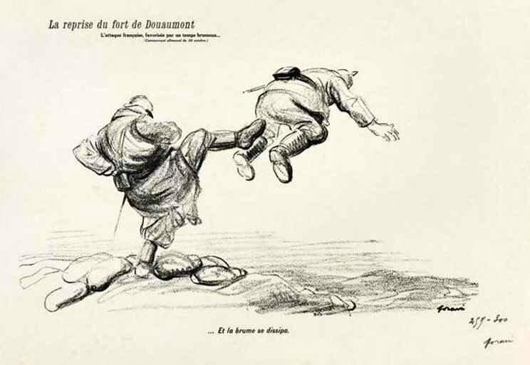 Forain reprise de Douaumont
