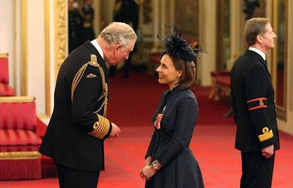 claire williams obe 2017 prince charles