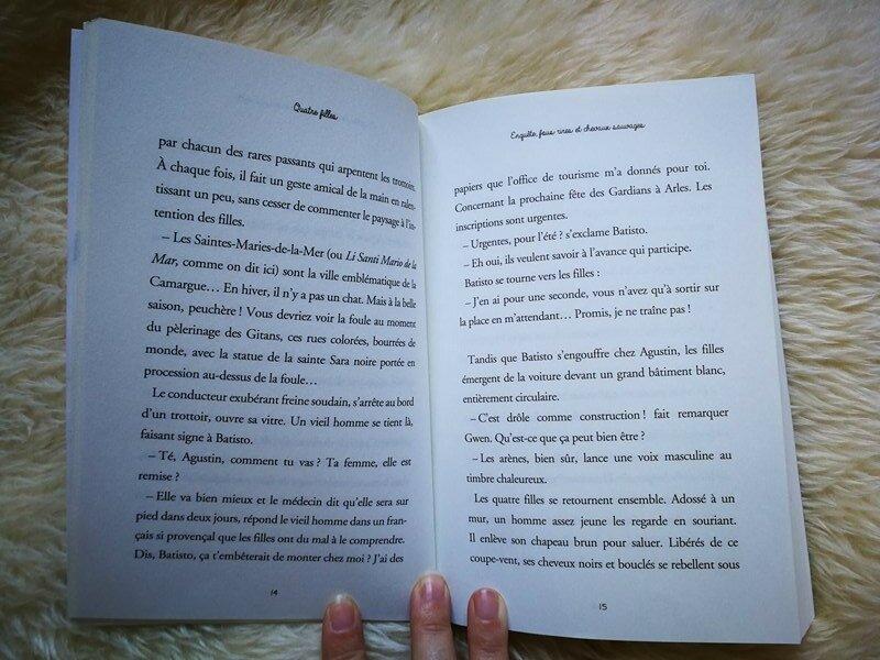 Livre : Quatre filles fleurus