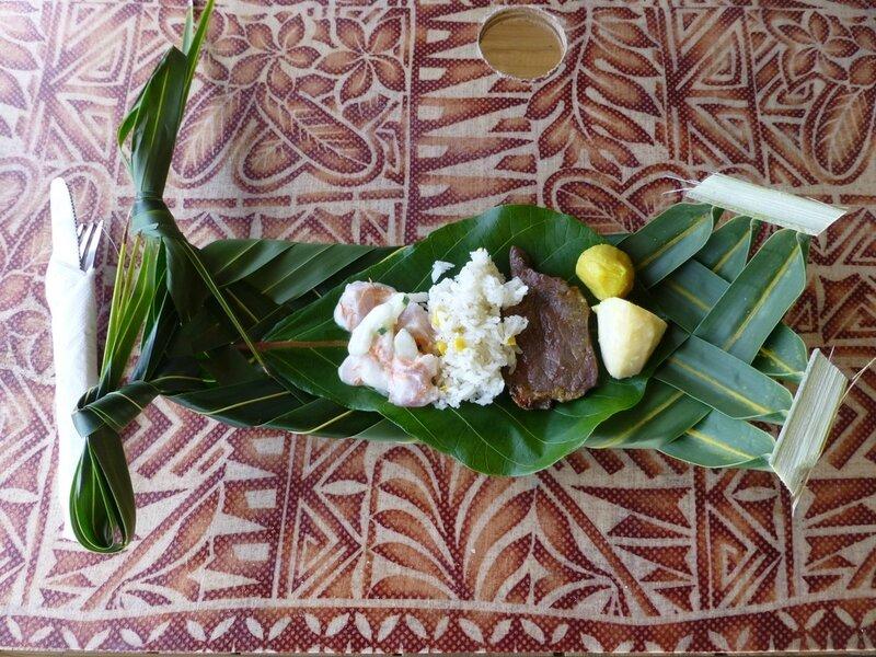 repas et assiette traditionnels