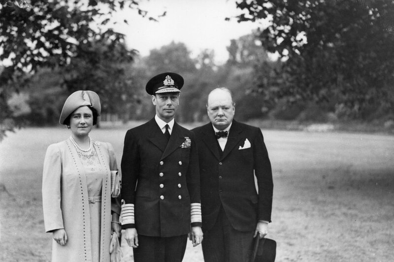 Churchill and the Royals